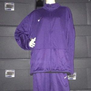 Nike NEW Plum Purple Dri-Fit Jacket & Pants XXL